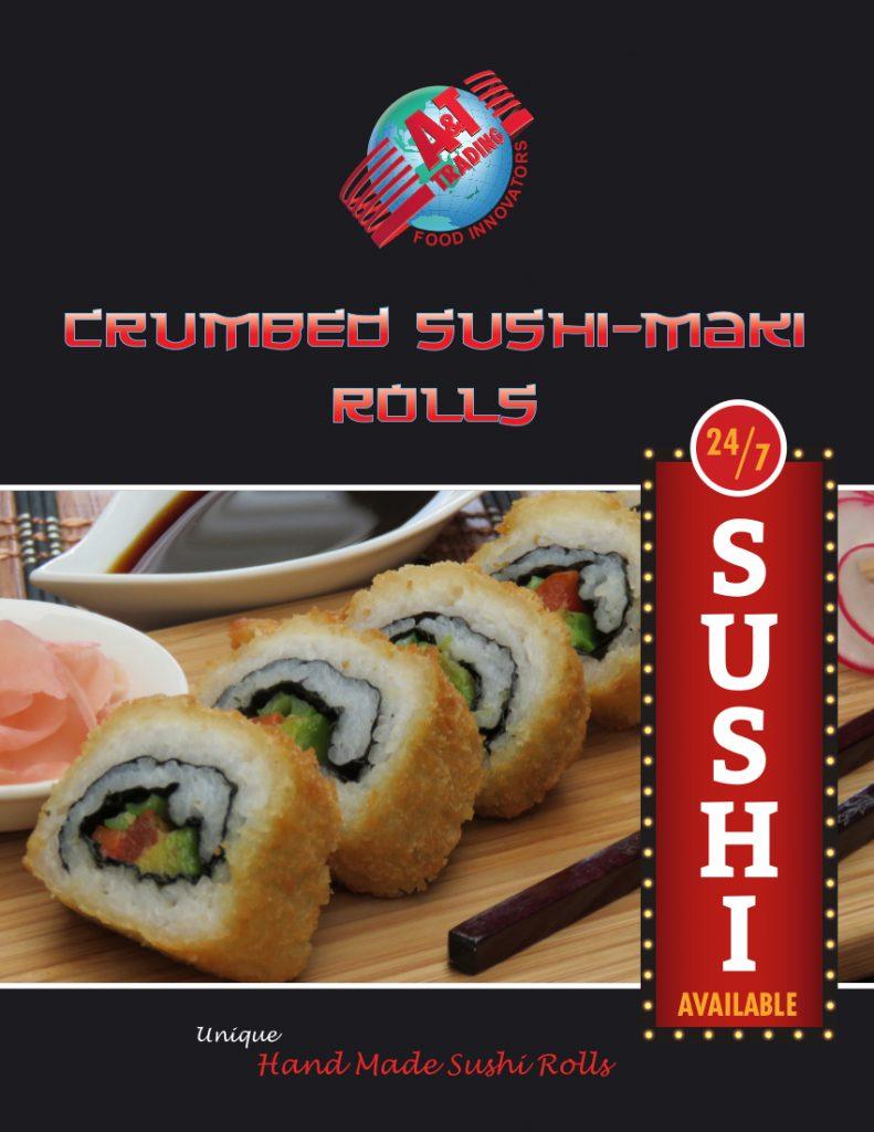 A&T Sushi Maki Brochure 1
