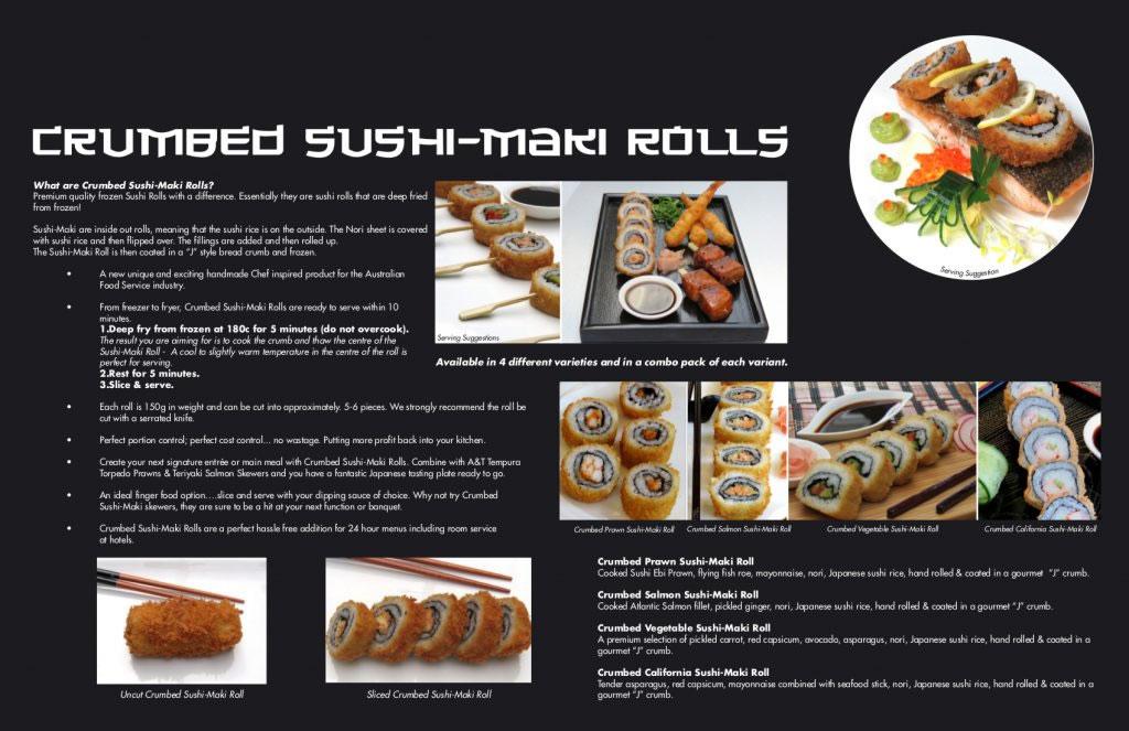 A&T Sushi Maki Brochure 2